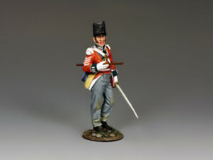 """King and Country NA435 """"Regimental Sergeant Major"""" 1:30 Napoleonic Toy Soldier"""