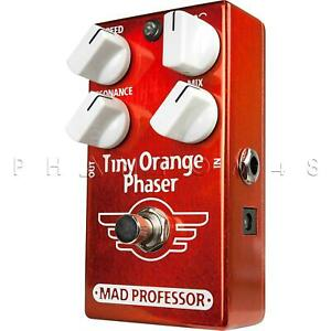 Mad Professor - Tiny Orange Phaser - Guitar Effects Phase Shifter Pedal - Brand