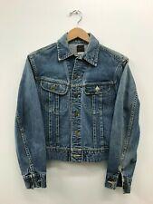 Vintage Lee 101-J Denim Jacket 1960's Size:34 e5