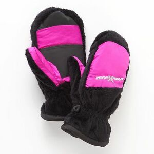 NWT Girls size S/M Charcoil ZeroXposur Thinsulate mittens