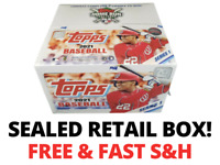2021 Topps Baseball Series 1 SEALED RETAIL BOX 24 Packs RC Patch MORE! FREE S&H!