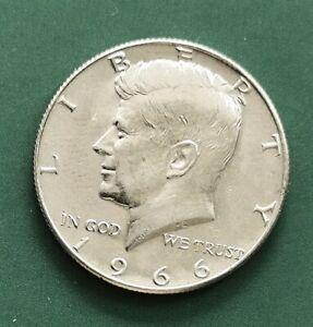 USA 1966 Kennedy Silver HALF Dollar UNC Coin