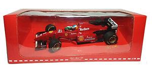 MINICHAMPS Ferrari F310 Michael Schumacher F1 Tabak Werbung + Fahne in OVP 1:18