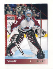 13/14 SP PATRICK ROY 1993 SP INSERT CARD #13