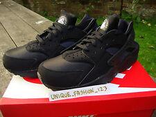 Nike Air Huarache le Triple Negro 12 11 10 9 8 7 6 Qs OG Blanco Puro Platino 201