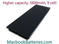 "Premium 13"" black MacBook battery - a1181, a1185 for MacBook 5,2 4,1 3,1 2,1 1,1"