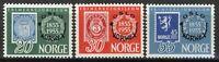 Norway 1955, NK 428-430 Norwex stamp exhibition Oslo set VF MNH, Mi cat 40€