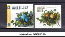 BELGIUM - 2009 CHRISTMAS SG#4284-4285 2V MNH SELF-ADHESIVE STAMPS