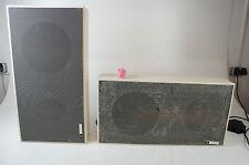 Elac Electroacustic LK 3300 weisse Boxen Lautsprecher Speaker Vintage 25W Patina