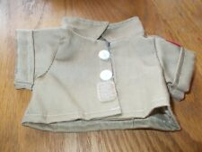 Herrington Teddy Bears Military Style Shirt W/American Flag