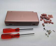 Replacement Housing Shell Kit for DS Lite, NDSL DSL Casing Repair Part - Rose