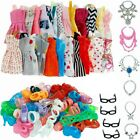 70PCS Barbie Puppenkleider Artikel Set Puppenschmuck Schuhe Kleidung Accessoires