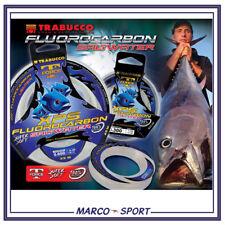 Filo lenza bava da pesca fluorocarbon Trabucco XPS big game mare traina barca