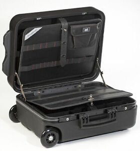 GT-Line Werkzeugkoffer Mega Wheels 190 PEL TSA Werkzeug-Trolley + Teleskopgriff