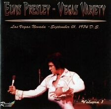 Elvis Collectors CD - Vegas Variety Volume 1 (2 CD Set) rare