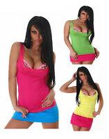 New Summer Sexy Women's Shirt Ladies Fashion Lace Vest Top Size 6 8 10 12 S M L