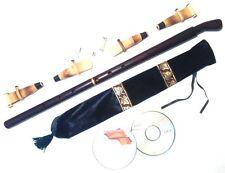 BASS Duduk Professional Armenian 4 reeds 2 CD case Flute Oboe Mey Ney NEW