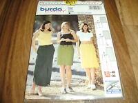 BURDA-PLUS+EASY Schnittmuster 8917               3x  ROCK              36-48