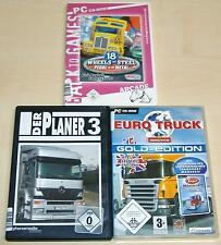 3 pc jeux collection 18 wheels of steel pedal to the Metal planificateurs euro truck sim