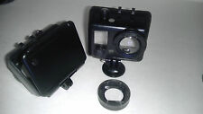 Ragecams Modificado Gopro Hero2 Hd2 Hero-2 HD 1080p Stealth Funda + LCD +