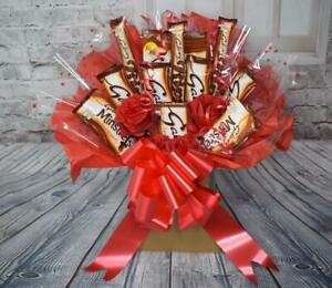 Personalised Galaxy Chocolate Bouquet Hamper Gift Present Box All Occasions (K73