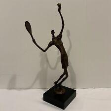 Metal Abstract Metal Tennis Player Sculpture