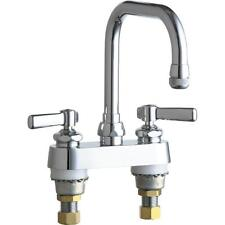 Chicago Faucets 2-Handle Kitchen Faucet in Chrome 6-1/4 in. Swing Spout 526-ABCP
