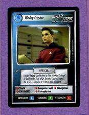 1994 Star Trek CCG: Wesley Crusher 1E Premiere Limited Black Border