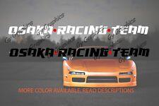 Osaka Racing Team Windshield Decal Car Sticker Banner Graphics Jdm Sun Visor