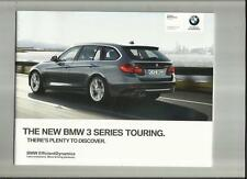 BMW 3 SERIES TOURING (INCLUDING SE, MODERN, SPORT & M SPORT) BROCHURE 2010 2011