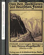 Alférez Engelhardt, V cordillera Z alemán Front, 1. guerra mundial, intermediarios 1917
