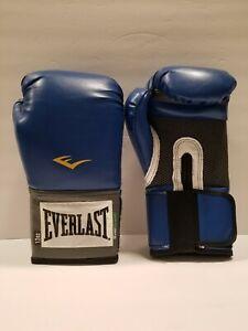Everlast Pro Style Training Boxing Gloves. New 12 oz. Blue