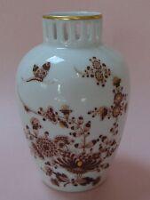 ROSENTHAL Classic Art Deco OTTO KEITEL Vintage Porcelain PEONY BUTTERFLIES VASE