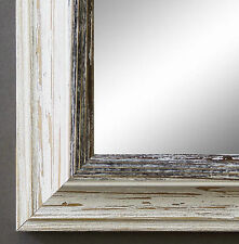 Spiegel Wandspiegel Bad Flur Garderobe Shabby Landhaus Bari Beige Schwarz 4,2