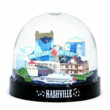 Nashville Snow Globe Plastic Tennessee Souvenir