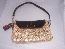 Nahui Ollin Candy Wrapper Handbag Tiger Print  New with Tag