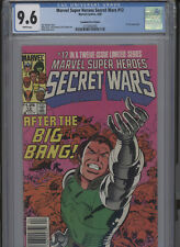 MARVEL SUPERHEROES SECRET WARS #12 NM 9.6 CGC WHITE PAGES CANADIAN PRICE VARIANT