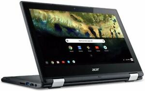 """Acer Chromebook R 11 Convertible Laptop, Celeron N3060, 11.6"""" HD Touch, 4GB DDR3"""