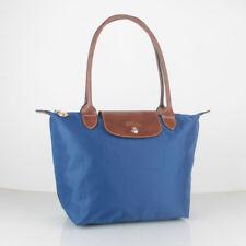 100% Authentic Longchamp Le Pliage Small Tote Bag Indigo 2605089506