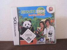 Nintendo DS Spiel Einsatz Erde Insel in Gefahr