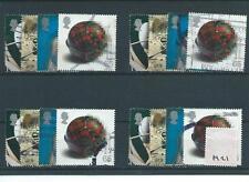 Gb-Conmemorativas - 2000-M21-cuatro conjuntos-La Mente Y Materia-Sep-Usado