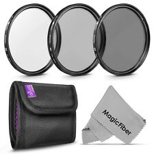52MM Photography Filter Kit UV, Polarizer CPL, ND4 for Nikon by Altura Photo