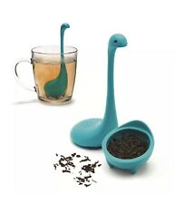 Set Of 2! Ototo Baby Nessie Tea Infusers Turquoise Loch Ness Dinosaur Monster