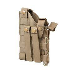 VISM NcSTAR Glock 1911 Beretta Tactical Modular MOLLE Pistol Handgun Holster TAN