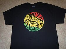 SEX WAX Mr. Zog's Original  Brand NEW Black Mens XL t-shirt!!! CLASSIC!!!!!