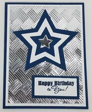 Handcrafted Greeting Card - Happy Birthday to You - Masculine - Dallas Cowboys