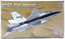 1:72 Scale NASA F-18 Hornet Model Aircraft Kit - Minicraft #11656