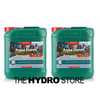 Canna Aqua Flores A & B 5 Liter Set - Hydroponic Nutrient Bloom Flower 5L