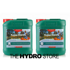 Canna Aqua Flores A & B 5 Liter Set - Hydroponic Nutrient Bloom Flower 5L
