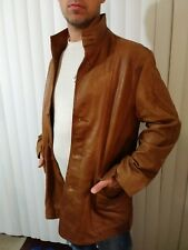 Light brown soft Leather Jacket Reilly Olmes Sz M/L